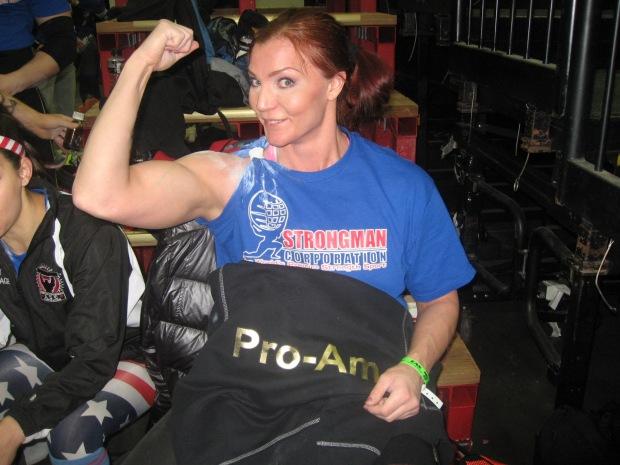 Niina Jumppanen Arnold Strongwoman World Championship 2015